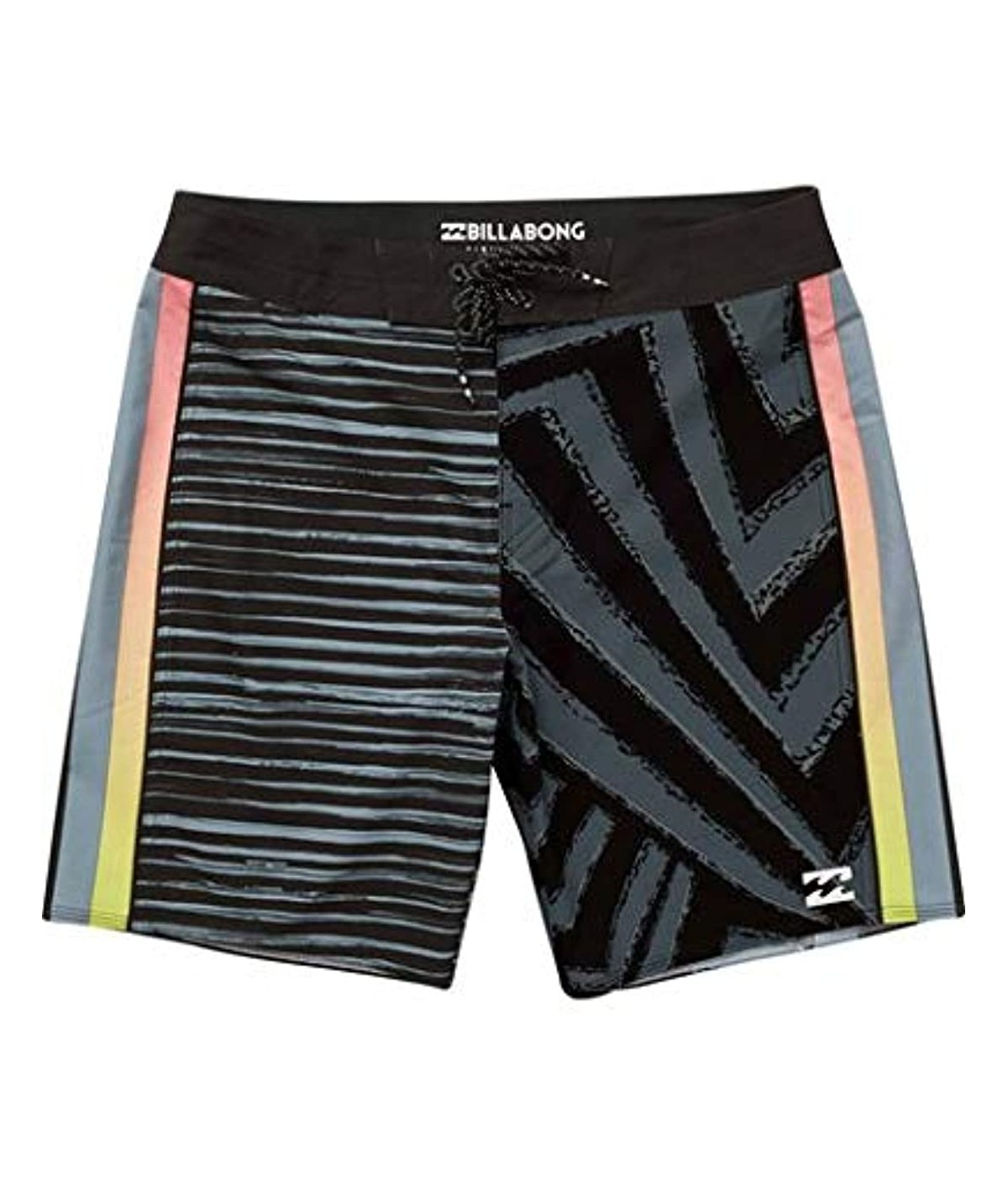 Desert Army Digital camo Grey Cargo Fully Lined Side Split Swimming Trunks Shorts